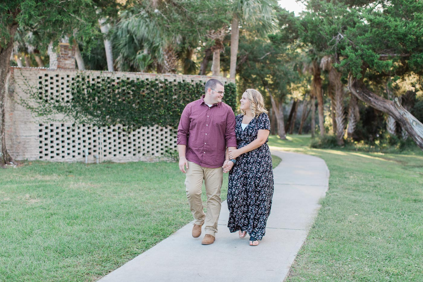 Amazing nature at Huntington beach state park engagement session