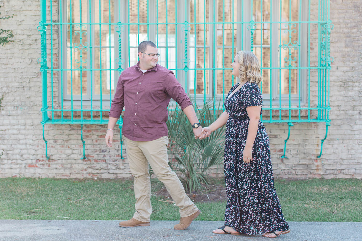 Huntington Beach State Park Engagement Session|Jaymee and Andrew