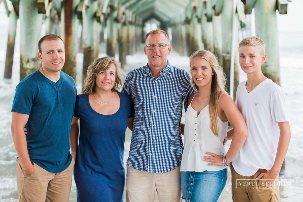 Family Portraits in Surfside Beach SC by Best Photographers