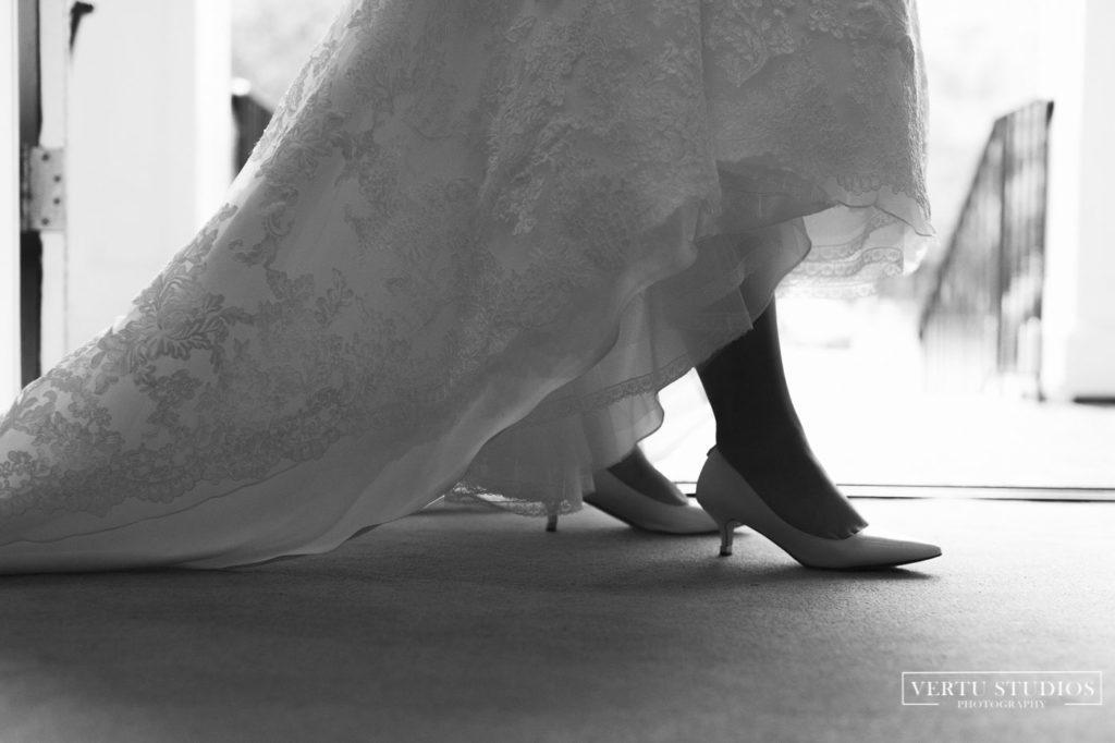Wedding Shoes at Pawleys Plantation
