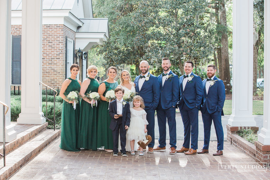 Pawleys Island Wedding Bridal Party