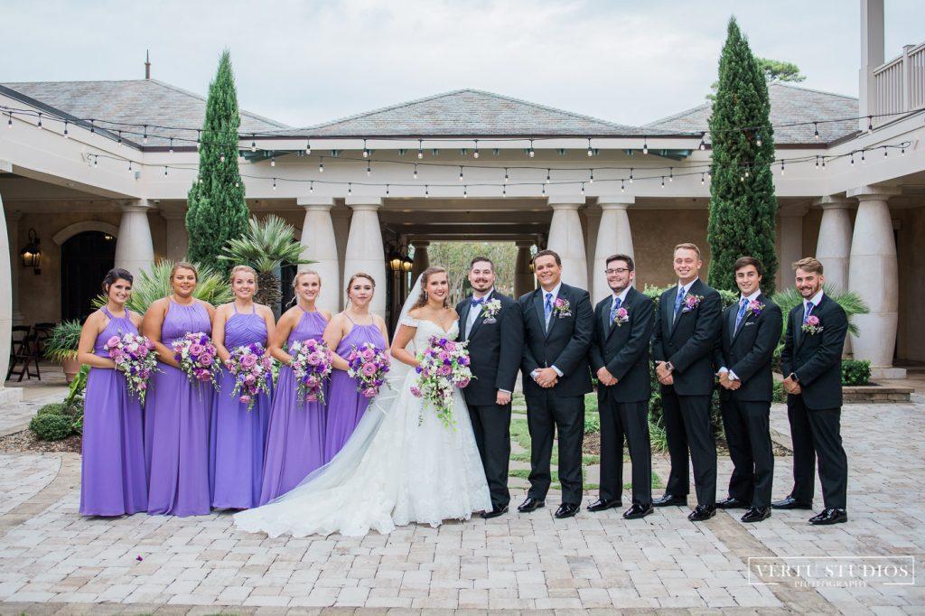 bridal party at 21 Main Events at North Beach
