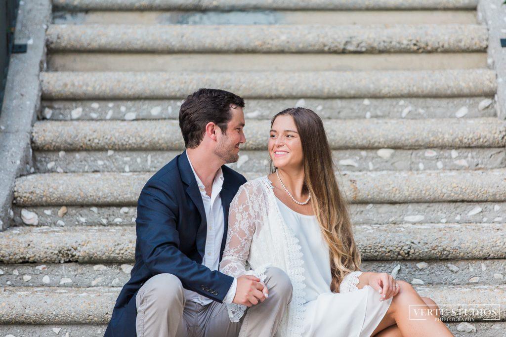 beautiful couple engaged at caledonia