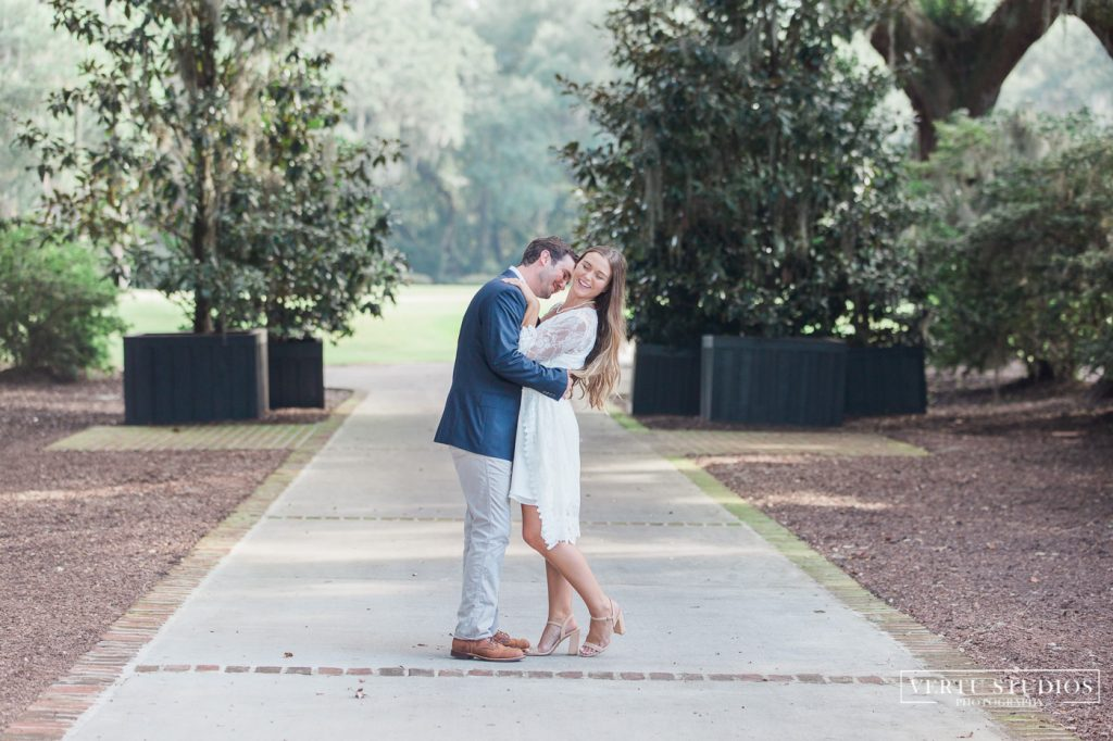 Caledonia Golf and Fish Club Engagement Session